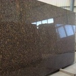 Granit Baltic Brown Rohplatten Tafeln